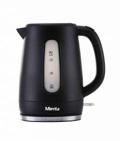 Mienta Electric Kettle, 1.7 Liter, Black - EK201220B
