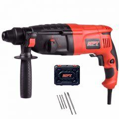 MPT Professional Rotary Hammer, 800 Watt, Black/Red- MRHL2607