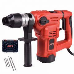 MPT Rotary Hammer, 1500 Watt, Black/Red - MRH3203