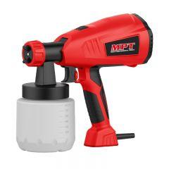 MPT Paint Spray Gun, 400 Watt, Red/Black- MESG4003