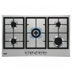 Zanussi Gas Built-In Hob, 5 Burners. Stainless Steel-  ZGH96524XS