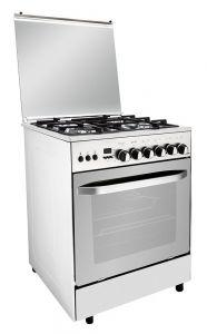 Fresh Hummer Gas Cooker, 4 Burners, Stainless Steel, 60 cm - ST5320