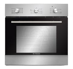 Fresh Built-In Gas Oven, 60 cm, Silver- GEFB60CMSF