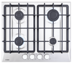 Fresh Gas Built-In Hob - 4 Burners, Silver - Sl8870