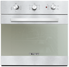 Fresh Built In Oven  Silver - 10342