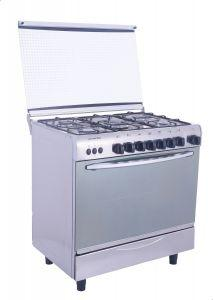 Universal Bombee Gas Cooker, 5 Burners, Silver - 8505- NBF