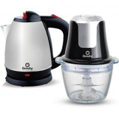 Set of Grouhy Chopper and Electric Kettle