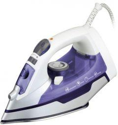 Media Tech Steam Iron, 2200 Watt, White \ Blue - MT-C2331
