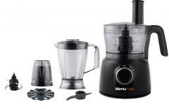 Mienta Food Processor, 1000 Watt, Black - FP141128A