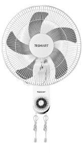 Smart Wall Fan, 18 Inch, White \ Grey - SWF182