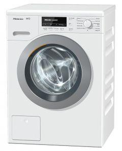 Miele Front Loading Washing Machine, 8 KG, White - WKB120