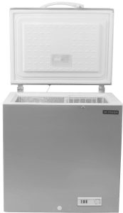 Fresh Freestanding Chest Deep Freezer, 282 Liters, Silver - FDF330T