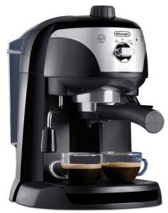 Delonghi Pump Espresso and Coffee Machine, Black - EC221