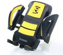 Remax Mobile Car Holder, Black and Yellow - RM-C13