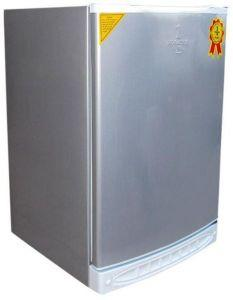 Alaska Upright Freezer, Defrost, 135 Liters, Silver- UP140