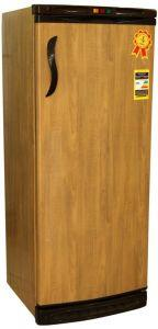 Alaska Upright Freezer, Defrost, 5 Drawers, Brown- UP180NF