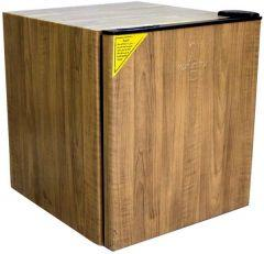 Alaska Hotel Mini Bar Refrigerator, 58 Liters, Brown- KAS