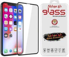 5D Screen Protector For Apple iPhone 11 Pro Max - Transparent / Black Frame