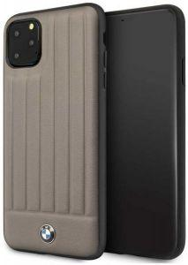 BMW Back Cover For Apple iPhone 11 Pro Max - Brown