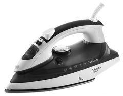 Mienta Steam Iron, 2200 Watt, Black - SI18609A