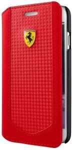 Ferrari Pit Stop Flip Cover for iPhone 7/8 - Red