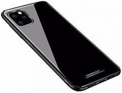 Armor Glass Back Cover For Apple iPhone 11 Pro - Black