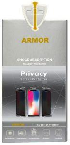 Armor Privacy Screen Protector For Oppo A15 - Transparent Black