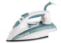 Black + Decker Steam Iron, 1750 Watts - X1600