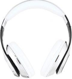 IKU Over-Ear Bluetooth Headset With Microphone, Silver - CH11