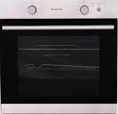 Ariston Built-In Gas Oven With Grill, 75 Liters, Silver- GA3 124 IX A1