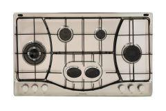Ariston 6 Burners Gas Hob, Stainless Steel, 90cm- PHN962TSIXA