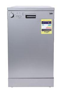 Beko Freestanding Dishwasher, 10 Persons, 5 Programs, Silver- DFS05012S