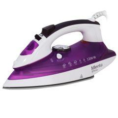 Mienta Steam Iron, 2200 Watt, Purple - SI18609B