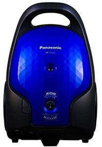 Panasonic Vacuum Cleaner, Bagged, 1600 Watt, Blue- MC-CG371
