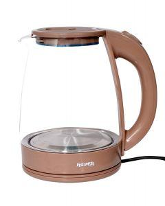 Hyper Electric Kettle, 1.8 Liters, Brown- KG9600