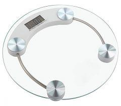 Digital Body Weighing Scale, 180KG - Transparent