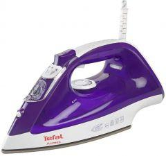 Tefal Access Steam Iron, 2000 Watt, Purple/White - FV1545