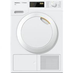 Miele Front Loading Tumble Dryer, 7 KG, White - TDB120WP