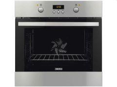 Zanussi Built-In Electric Oven With Grill, 60 cm, Stainless Steel - B35602 XK