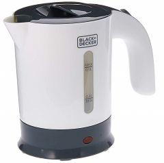 Black + Decker Travel Kettle, 0.5 Liter, White - TR250JA