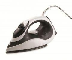 Black and White Steam Iron, 2200 Watt, Black \ White - SI-1600