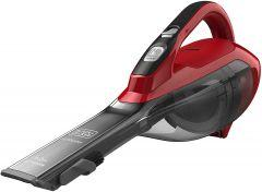 Black+Decker Cordless Handheld Vacuum Cleaner, 20 Watt, Red/Black - DVA315J
