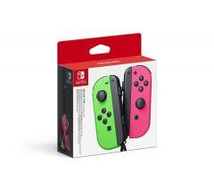 Joy-Con Pair, Nintendo Switch, Neon Green And Neon Pink