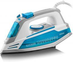 Black + Decker Steam Iron, 2800 Watt, Multicolor - X2800