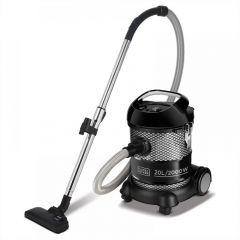 Black + Decker Drum Vacuum Cleaner, 2000 Watt, Black - BV2000