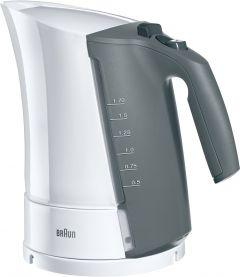 Braun Multiquick 3 Kettle, 1.7 Liters, 2200 Watt, White - WK300