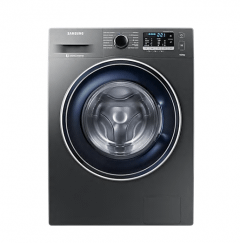 Samsung Front Load  Automatic Washing Machine, 9 KG,  Inverter Motor, Inox- WW90J5475FX