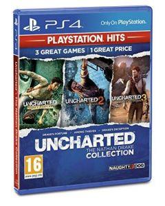 Uncharted Collection PlayStation Hits For Play Station 4