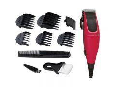 Remington Corded Hair Clipper, Red/Black - HC5018