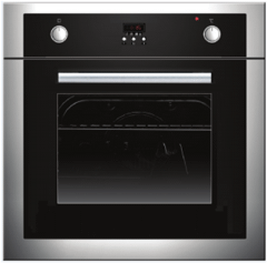 Fresh Built-In Electric Oven, 60 cm, Silver - EOFB60CMSF